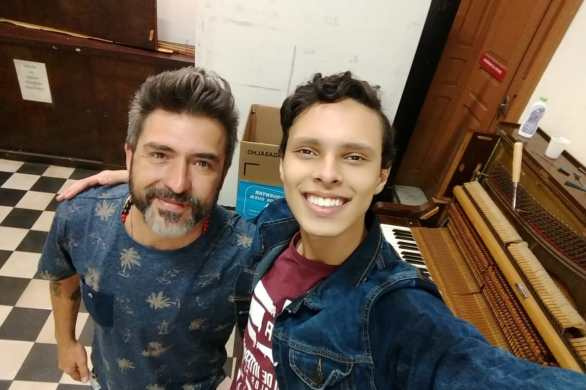 músico voluntário e estudante